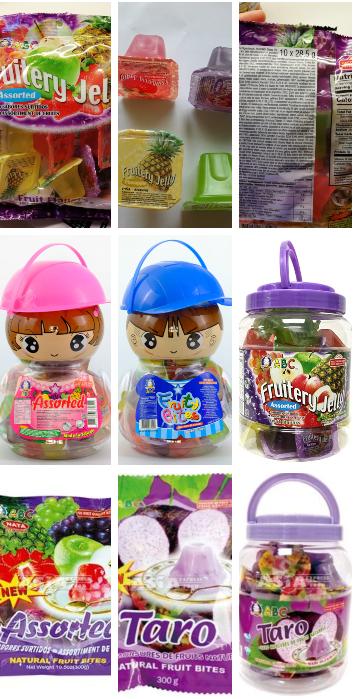Fulladásveszélyes zsesés édesség