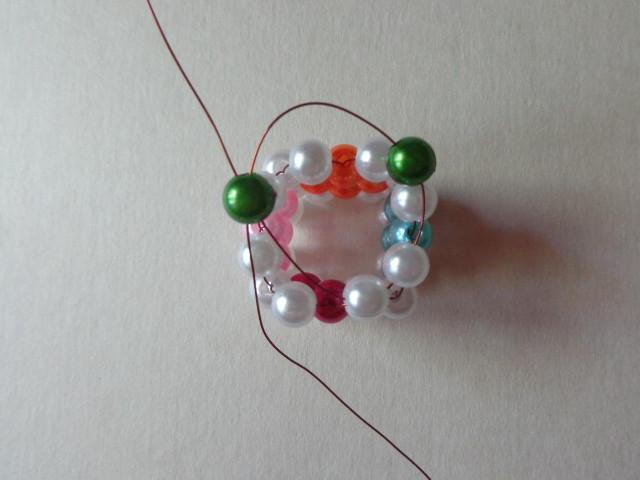 Gyöngyfűzés - gyöngykocka