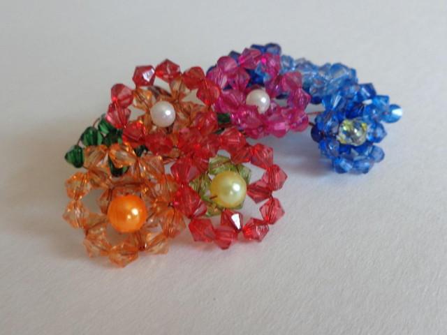 Gyöngyfűzés - Nyári kristályvirág