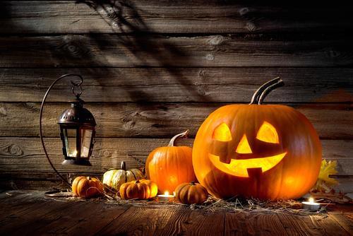 Halloween-tök