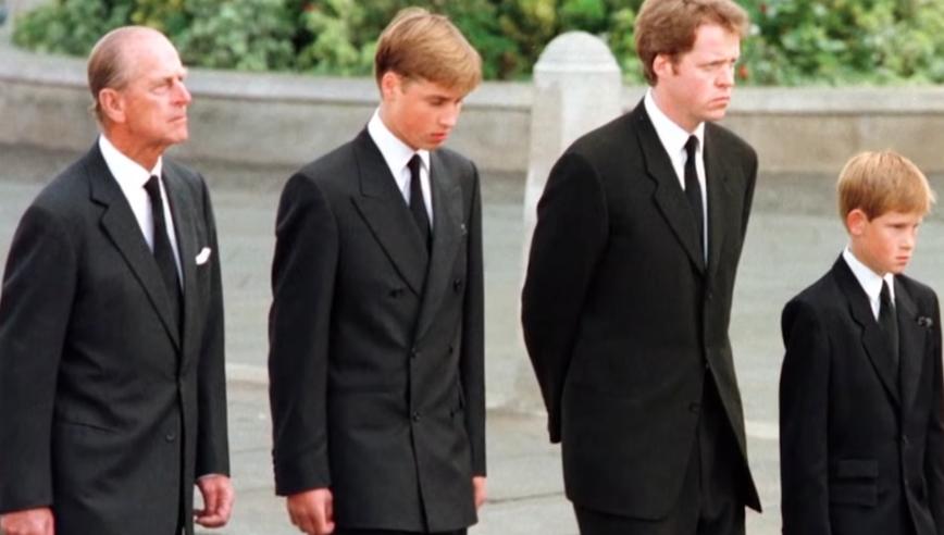 Diana temetése