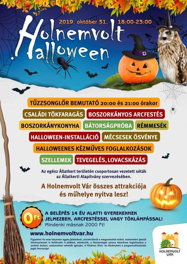 Holnemvolt Halloween