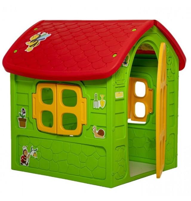 Lebudo állatos gyerek játékház