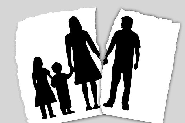 Kettészakított család