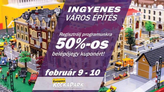 Campona KockaPark - Ingyenes városépítés