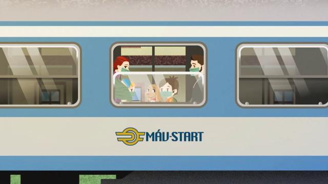Kajla - MÁV vonat