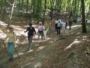 Nordic walking - túrázás szép  tájakon