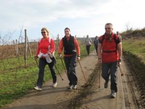 Nordic walking - túrázás túrabottal