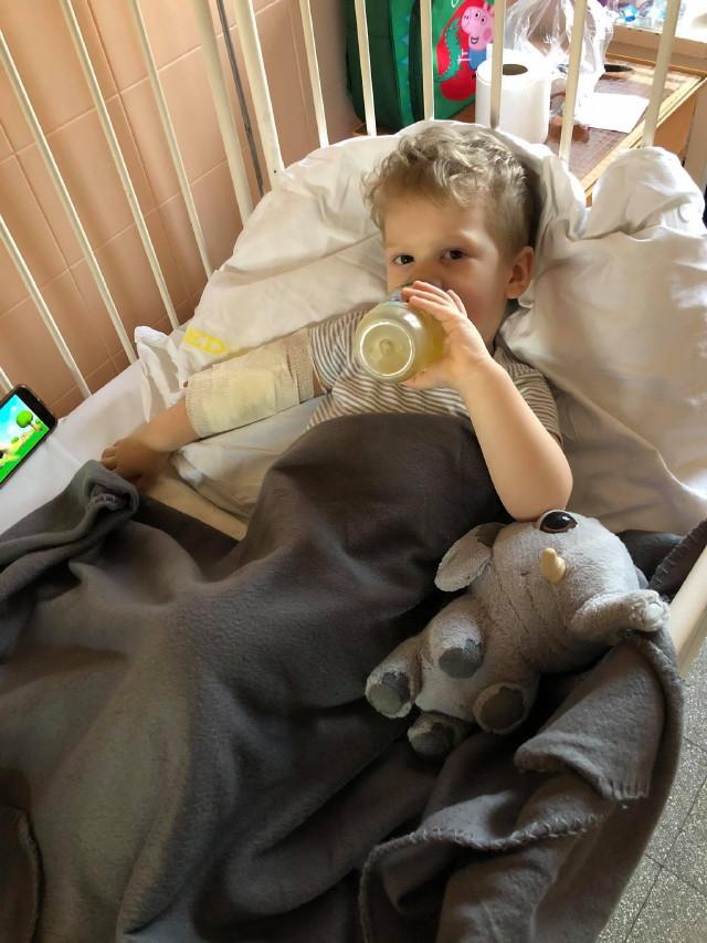 Rotavírus: Olivér iszik