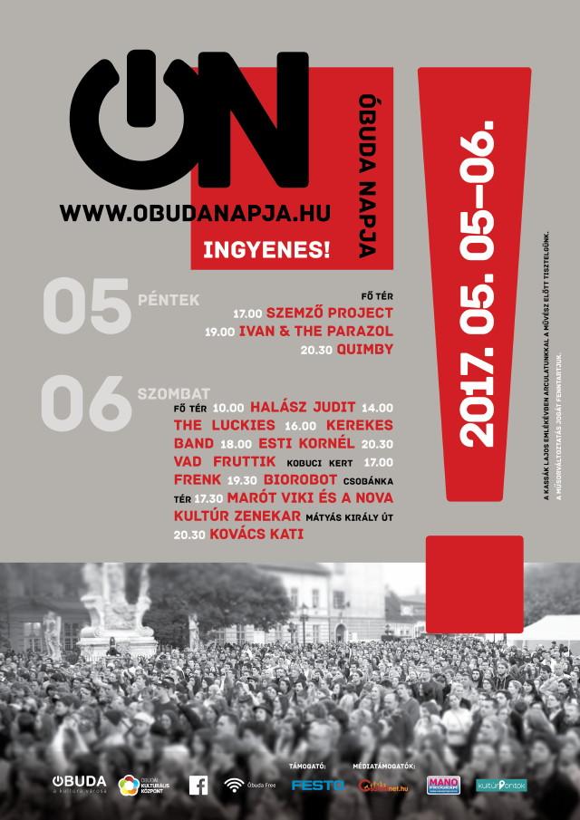 Óbuda Napja 2017 - Plakát