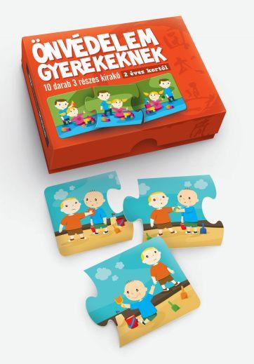 Önvédelem gyerekeknek kirakó (puzzle)