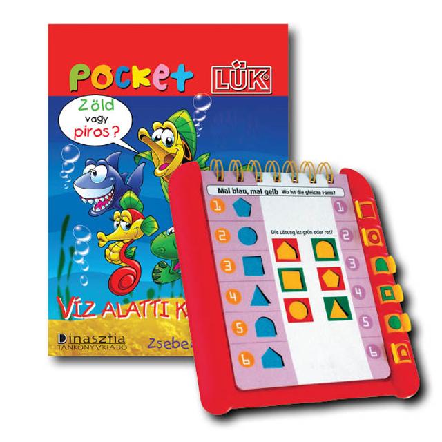 PocketLÜK füzet