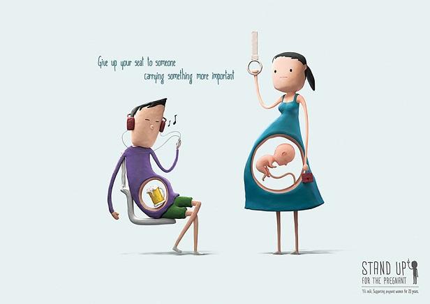 találkozók közötti terhes nők