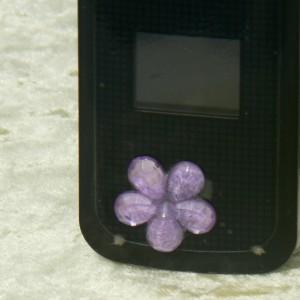 Mobiltelefonékszer (strasszkő)