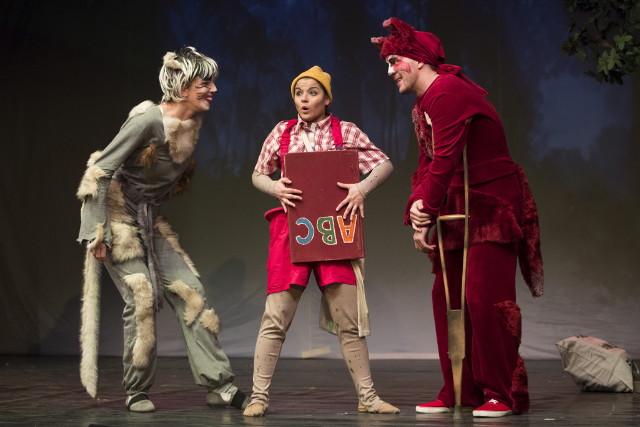 Turay Ida színház Pinokkió