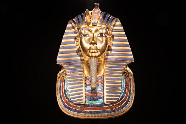 Tutanhamon halotti maszk