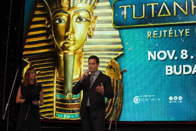 Tutanhamon kiállítás - Epres Panni és Bátyi Dániel