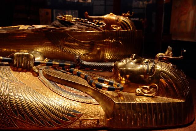 Tutanhamon kiállítás - múmiák