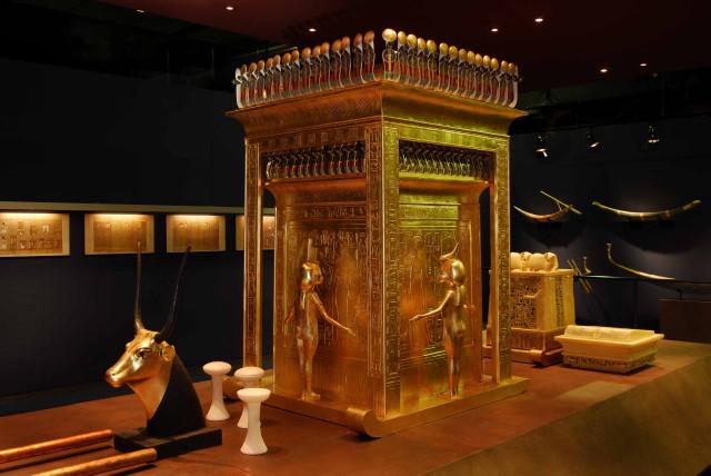 Tutanhamon kiállítás - Szentély