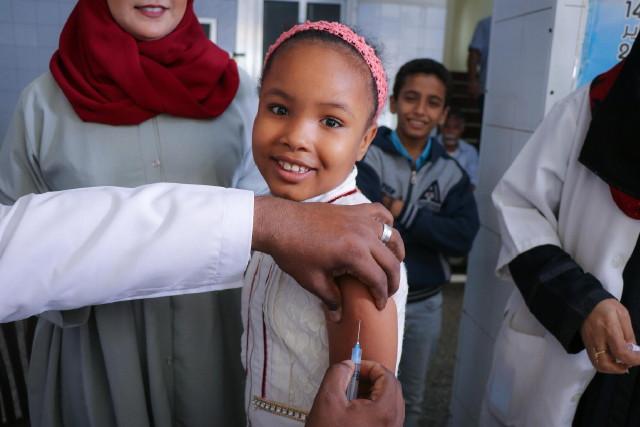 Unicef védőőoltás