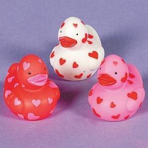 Valentin nap szíves kacsa