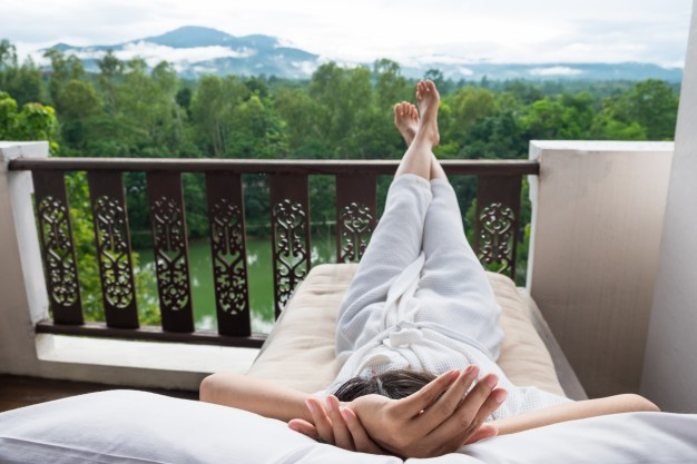 kényelmers pihenés