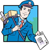 Foglalkozások - postás